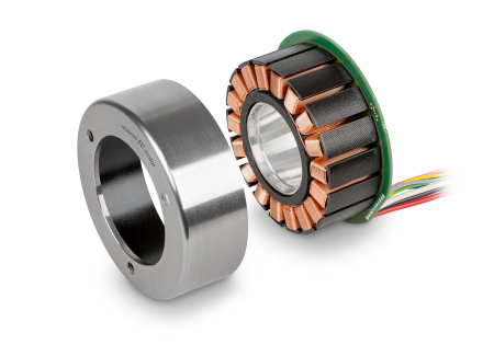 Frameless motor kits offer high torque density and space-saving integration