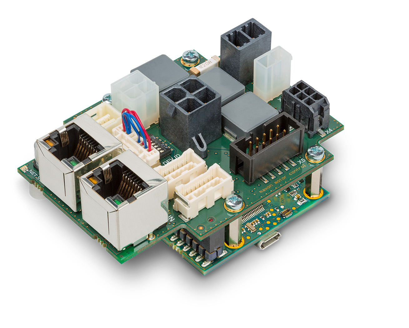 Easily Configured Online For Combinations With Maxon Motors Stepper Motor Controller Circuit Diagram Likewise Easy Servo The New Epos4 Compact 50 8 Ethercat